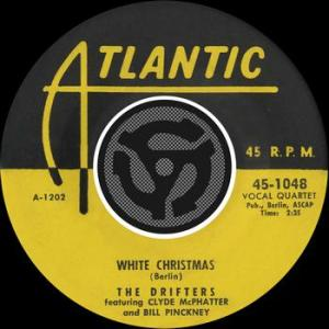 white christmas the drifters